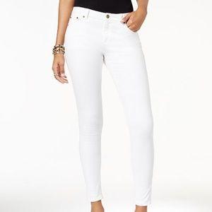 Michael Kors White Skinny Jeans Cotton Stretch 6